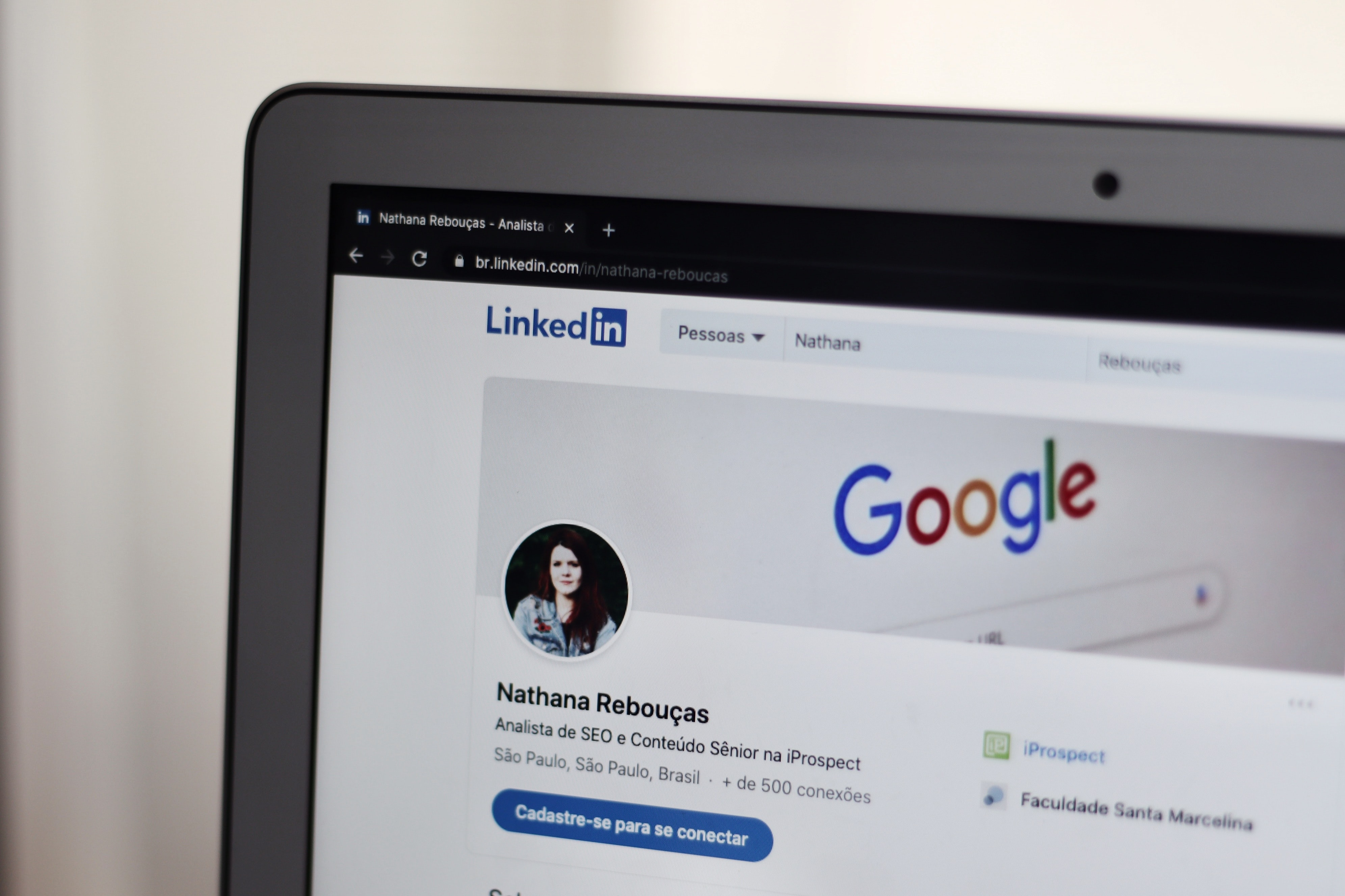 Reaching out to industry experts on LinkedIn